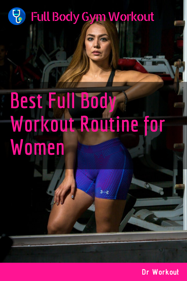 Women's Full Body Gym Workout Plan for Strength & Toning